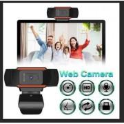 With Built-in Microphone for Video Calling HD Webcam Camera, HD Webcam Desktop Laptop USB Web Camera 720P Web Cam CMOS Sensor