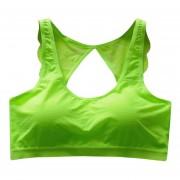 Sujetador Deportivo Mujer-verde