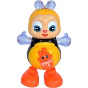 Blossom Dancing Bee Toy with Beautiful Lights and Soft Music for Kids Aged 3 Years and Above, It Dances, Waves and Winks.