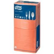 Szalvéta, 1/4 hajtogatott, 2 rétegű, 33x33 cm, TORK Advanced, terrakotta (KHH189)