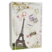 Vászon tároló szekrény, ruhás 158 x 45 x 105 cm Eiffel