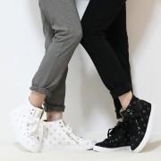 &LOVE ハートハイカットスニーカー【QVC】40代・50代レディースファッション