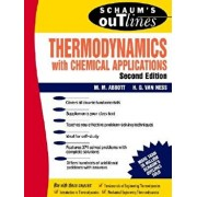 Schaum's Outline of Thermodynamics with Chemical Applications, Paperback/Michael Abbott