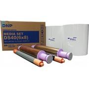 "DNP DS40 15 x 20cm ( 6"" x 8"" ) 2 x 200 Media set"