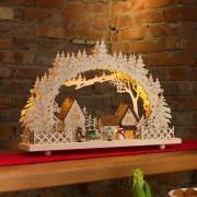 Ten-bulb LED candle arch Village