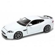 Bburago Modelauto Jaguar XKR-S wit 1:24