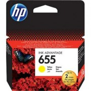 HP 655 Yellow Ink Cartridge - CZ112AE