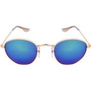Aligatorr Stylish Blue Mercury in Pento Wayfarer Unisex UV400 Sunglass