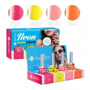 Új! NEON 4Colors4Display 3 STEP CrystaLac készlet - 4x4ml