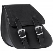 Held Springdale Saddle Bag Bolsa sillín Negro un tamaño