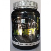 N O V A MONSTER WHEY PROTEIN PLUS 2 LB VANILA FLAVOUR ( VEG FOOD )
