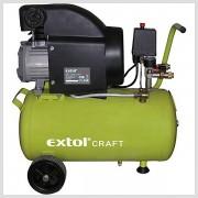 Olejový kompresor 1500W 800kPa 24L Extol Craft