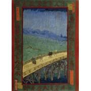 Artifact Puzzles Van Gogh Bridge In The Rain Wooden Jigsaw Puzzle