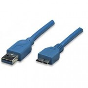 Techly Cavo USB 3.0 Superspeed A/Micro B 0,5 m