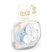 Lovi Joy 28/844boy 0–3 miesięcy:#br#– posiada silikonową gumkę dopasowaną do rytmu ssania dziecka