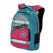 Sac à dos MEATFLY - EXILE 3 J - Ht.Turquoise / Ht.Rose - MEAT161