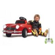 Masinuta Electrica Copii Mercedes Benz 300Sl Rosie Jamara 6V Cu Telecomanda Control Parinti