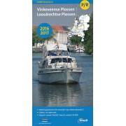 Waterkaart Vaarkaart Vinkeveense + Loosdrechtse Plassen P/R 2016 - 2017   ANWB Media