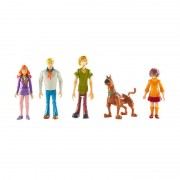 Set 5 figurine 13 cm personaje Scooby Doo, Echipa Misterelor