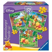 Ravensburger Winnie The Pooh 3 In A Box Puzzles
