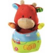 Jucarie bebelusi Minimi Pom Cow Minipop