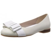 Clarks Women's Festival Game Combi White Leather Fashion Sandals - 5 UK/India (38 EU)