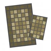 Korhani Galieras Outdoorteppich-Set 160x213 cm + 80x112 cm Schwarz Braun Mehrfarbig