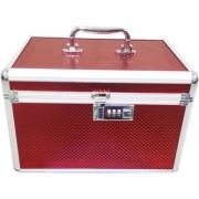 Pride Marigold to store cosmetics Vanity Box (Red)