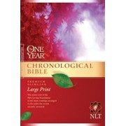 One Year Chronological Bible-NLT-Premium Slimline Large Print, Paperback/Tyndale