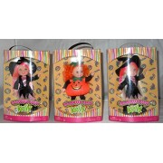 Set of 3 Halloween Party Kelly - 2 of Kelly the Witch & 1 of Miranda the Pumpkin doll