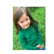 Bluză lână merinos - Green grass