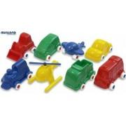 Jucarii Minimobil Miniland 8 vehicule