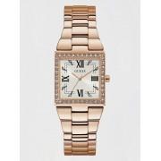 Guess Analoog Horloge Vierkant - roze goud - Size: T/U