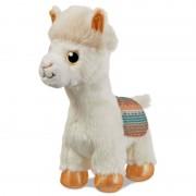 Aurora Pluche witte alpaca/lama knuffel 18 cm speelgoed