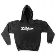 Zildjian Classic T7102 Hoodie Black White Logo M Hood