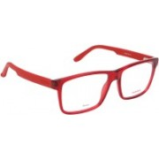 Carrera Rectangular Sunglasses(Clear)