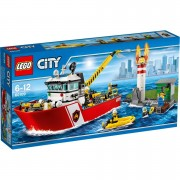 LEGO City: Le bateau des pompiers (60109)