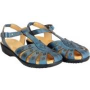 Dr. Scholls Women Blue Sandals