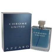 Azzaro Chrome United Eau De Toilette Spray 6.8 oz / 201.10 mL Men's Fragrances 540526
