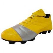 Port Unisex Yellow Nitro Pu Football shoes