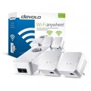 devolo D9645 DLAN 550 WiFi Network Kit Powerline