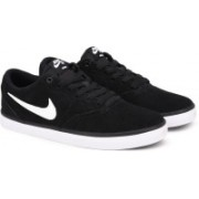 Nike SB CHECK SOLAR Sneakers For Men(Black)