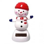 Solar Power Motion Toy - Snowman