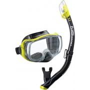 UC-3325 Imprex 3D Dry Combo BKFY Yellow - zestaw maska + fajka + GRATIS