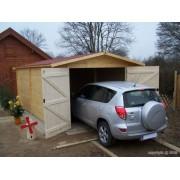 garage en bois Dorna 3.70x5.67m 21m2