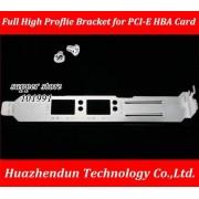 Yoton Computer Cables Full High Proflie Soporte para Tarjeta de Fibra óptica de Doble Puerto EMULEX LPE12002-AP 8G PCI-E HBA Card, 10 Piezas