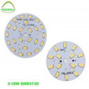 3W 5W 7W 9W 12W 15W 18W 24W 5730 SMD Light Board Led Lamp Panel For Ceiling Downlights Spot