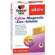 DOPPELHERZ CALCIU MAGNEZIU ZINC SELENIU 30 comprimate