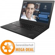 "IBM ThinkPad T560 Touch, 39,6 cm/15,6"", Core i5, SSD (generalüberholt)"