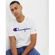 Champion T-shirt med stor logga - Vit